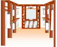 Inloopkasten en schuifdeurkasten op maat for Inloopkast ontwerpen